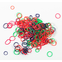 "0416316 Elastics Confetti 3/16"", 6.5 oz., 4.8 mm, Heavy (C), 360206A"