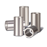 0705236 Crimpable Mini Stops Stainless Steel, Large, 25/Pkg.