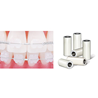 0907178 Crimpable Mini Stops Tooth Tone, Small, 25/Pkg.