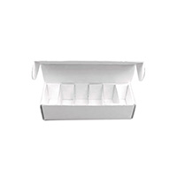 0931430 Model Storage Box White, 25/Pkg., 610-071
