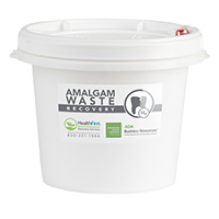 3170000 Amalgam Waste Recovery Containers 1.25 Gallon, 4102