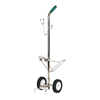 3170712 Emergency Oxygen System Mobile Oxygen Cart with Rack, 3012