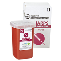 3170744 Sharps Recovery Dental Containers 1 Quart, Each, 3882