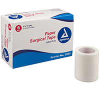 "3176774 Surgical Tape Paper, 2"" x 10 yd., 6/Pkg., 3553"