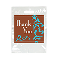 "3310245 Specialty Bags 100 Count Thank You, 9"" x 13"", 100/Pkg."