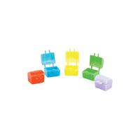 "3310285 Tooth Savers Chest, 1"", Assorted Colors, 144/Pkg."