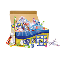 3310322 Treasure Toy Chest Dental Mix Chest w/150 Toys, TC100