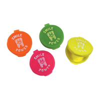 "3310616 Tooth Savers Round, 1.75"", Assorted Colors, 100/Pkg."