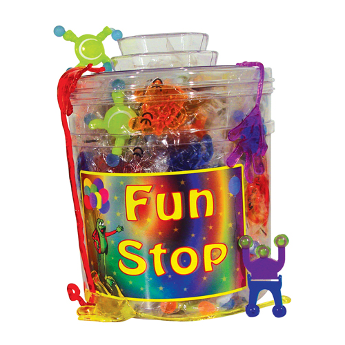 3310844 Fun Stop Canister Mix Sticky Hands Mix, 156/Canister