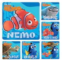 3313228 Assorted Stickers Finding Nemo, 100/Roll, PS273