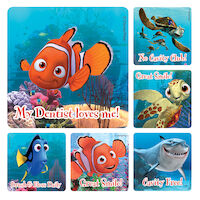 3314119 Disney Stickers Finding Nemo, 100/Roll, PS417