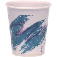3411031 Solo Cups 3 oz., Wax Coated, Jazz Design, 100/Pkg, SWEER3