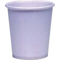 3411047 Solo Cups 3 oz., No Wax, White, 100/Pkg, SOLO44