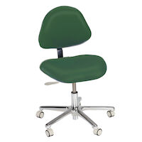 4404135 Simplicity Stools Operator Stool, Ultra Leather, 3554-202U