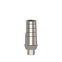 4970242 S-line Cemented Abutments S-line Shoulder, 1 mm, 10 mm, AGM-602-1S