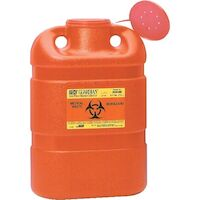 5039815 Sharps Collectors 5 Gallon, Open Top, Red, 305491