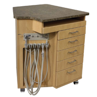 5660102 Ortho Cabinet with Keyboard Drawer Mobile Base, SP400CA