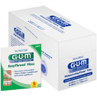 8110881 GUM EasyThread Floss Sample Pack, 50/Box, 3200D
