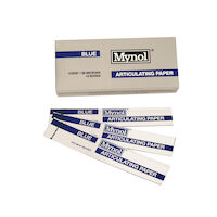 "8143106 Mynol Articulating Paper Thick, Blue, .009"", 70 Sheets, 11008"