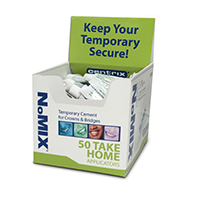 8180415 NoMIX Temporary Cement Take-Home Display Kit, 310157