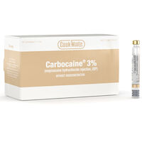 8200967 Carbocaine (Cook-Waite) Carbocaine 3%, 50/Box, 99171