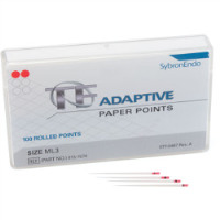 8223094 Absorbent Paper Points TF Adaptive SM2, 100/Pkg., Yellow, 815-1570