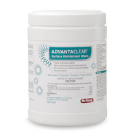 "8430227 AdvantaClear Surface Disinfectant Wipes 6"" x 6.75"", 160/Canister, IMS-2160"