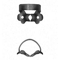 8431841 Black Line Rubber Dam Clamps #1A, RDCM1AX