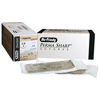 "8433312 Perma Sharp, Chromic Gut 4-0, 27"", C-6, 12/Box, PSN635C"