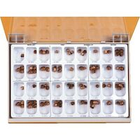 8454027 Gold Anodized Crowns #1, First Biscuspid, Lower Right, 5/Box, 940541