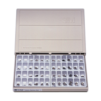 8454100 Unitek Primary Molar Stainless Steel Crowns Complete Kit, 902150