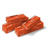 8490718 AGFA Dentus M2 Comfort E-Speed Film M2-53, Double, Size 0, 100/Box, 65031256