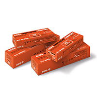 8490720 AGFA Dentus M2 Comfort E-Speed Film M2-54, Size 0, 100/Box, 65031124