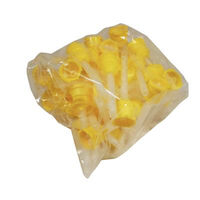 8547130 Extrude Small, Mixing Tips, Yellow, 48/Pkg., 29363