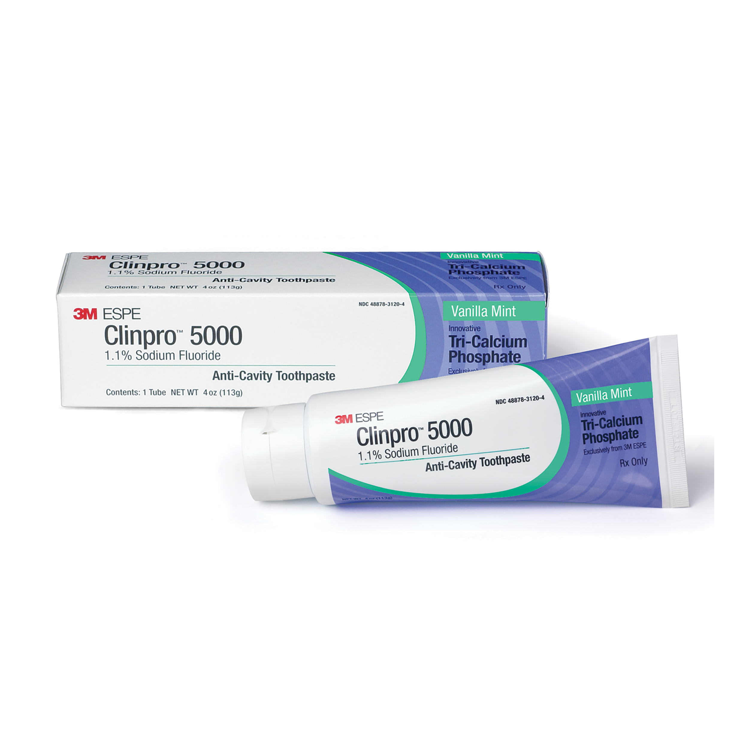 8671508 Clinpro 5000 Toothpaste Vanilla Mint, 4 oz., 12115