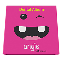 8830045 Angie's Dental Album Pink Booklet, 9711