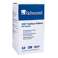 "8840402 Cotton Pellets Size 2, 7/32"" Diameter, 2550/Pkg., 100107"