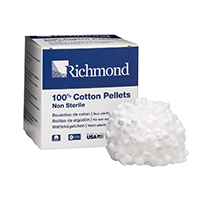 "8840404 Cotton Pellets Size 4, 1/8"" Diameter, 3000/Pkg., 100109"