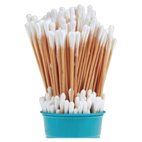 "9328314 Cotton Tipped Applicators 6"", 1000/Pkg, H6C"