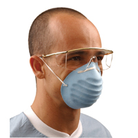 9329646 Surgical Molded Masks Blue, 50/Box, GCBL