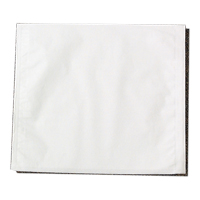"9332292 Headrest Covers Fabricel, Poly-lined, Medium, 13"" x 13"", White, 500/Pkg, 919513"