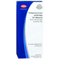 9430102 Temporary Crown and Bridge 10:1 Material A2, 50 ml Cartridge