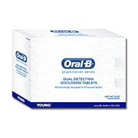 9442335 Oral-B Dual Detection Disclosing Tablets Tablets, Fruit, 250/Box, 285212