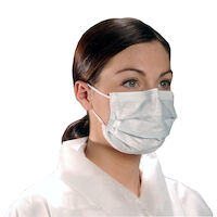 9500096 Critical Cover CoolOne Masks Anti-Fog, Blue, 50/Box, BL 6155
