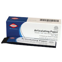9501455 Articulating Paper Thin, 71 microns, Blue, 12Bks/Box