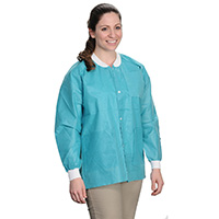 9510637 Extra Safe Jackets Small, Teal, 10/Pkg, 3630TES