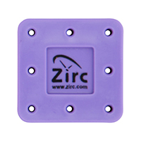 9514554 Magnetic Bur Blocks 8-Hole, Neon Purple, 50Z400R