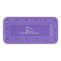 9514564 Magnetic Bur Blocks 14-Hole, Neon Purple, 50Z403R
