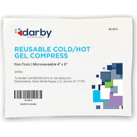"9514915 Reusable Cold/Hot Gel Compress Gel Compress, 4.75"" x 6"", 48/Case"