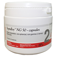 9517935 Septalloy NG 50 2 Spill, 600 mg, Green, 50/Pkg., 01-C1550
